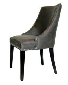 Dining Chair in Camel Canvas Easton AJ808-11