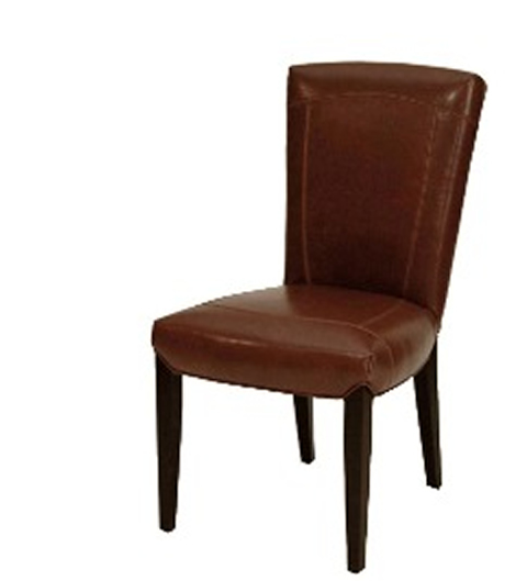 Auckland Dining Chair In SAK104 Light Cognac Leather