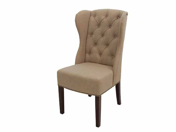Denver Arm Chair In Tan Fabric FAB168-5