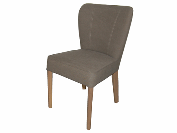 Easton Dining Chair In Camel Canvas AJ808-17