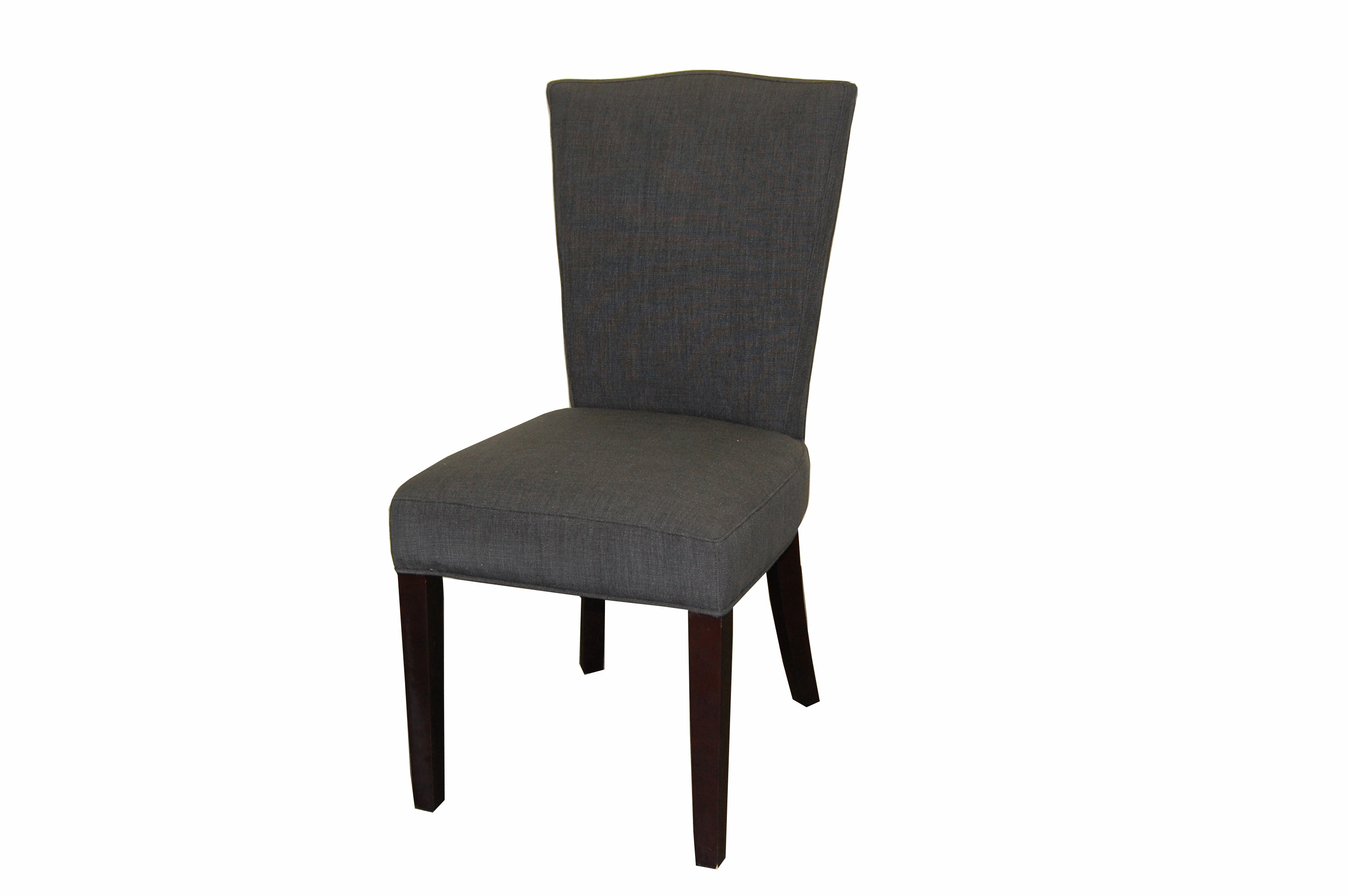 Dayton Dining Chair In Dark Charcoal Fabric  FAB168-11
